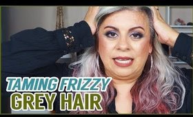 How to Get Rid of Frizzy Grey Hair