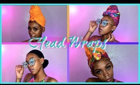 HEAD WRAP TUTORIAL| HIGHLY REQUESTED MUST WATCH !