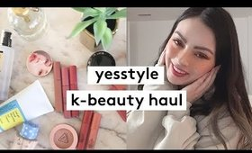 ✨Yesstyle Beauty + Skincare K-BEAUTY Haul  ✨
