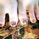 Fall Tree Pedicure