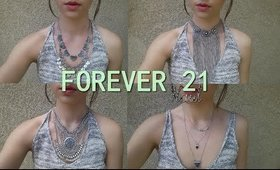 FOREVER 21 HAUL | MARCH 2015