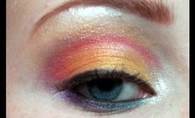 Sunset Eyes Makeup Tutorial