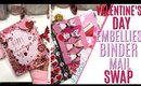 Embellishment Swap Binder Mail Project Share, DAY 14 of 14 Days of Crafty Valentines Day
