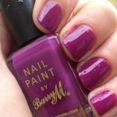 Barry M Nail Paint Bright Purple