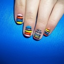 Colorful Nails for summer!