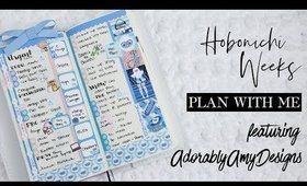 Hobonichi Weeks | Plan with Me feat. Adorably Amy Designs
