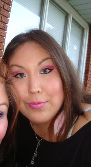 Bday makeup 2010