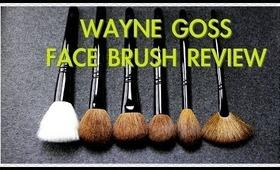 WAYNE GOSS FACE BRUSH SET REVIEW!