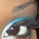 Blue Eye Look