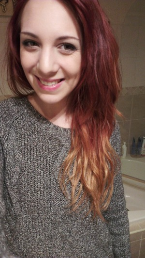 my red ombre