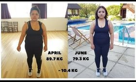 My 3 months weight loss progress - I lost 23LBS | The Vanitydoll