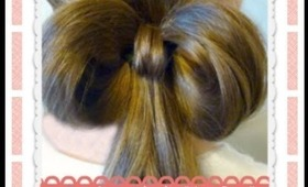 One (1) Elastic Hair Bow, Easy Hairstyles, Hair4myprincess