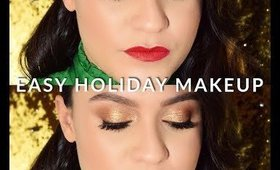 10 - MINUTE | HOLIDAY | MAKEUP TUTORIAL