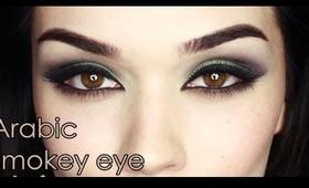 Arabic inspired smokey eye
