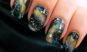Easy Galaxy Nail Art
