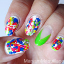 Pollock-Graffiti-Drip-Splatter-Nails