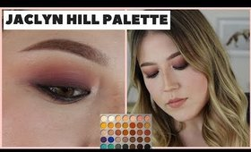 The Easiest Purple Smokey Eye | Jaclyn Hill Palette Tutorial