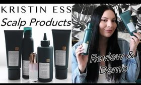 Kristin Ess Scalp Collection Review & Demo (First Impressions) | Olivia Frescura