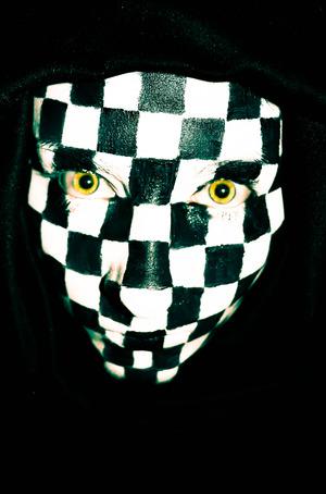 Checker Face #3
