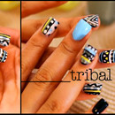 Tribal Nails from My Tutorial