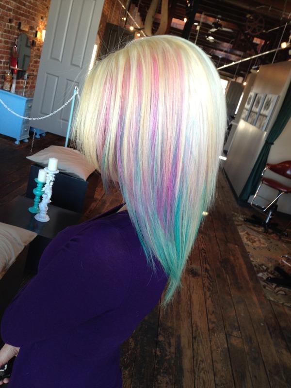 Cotton Candy Hair Riley V S Riley Photo Beautylish
