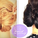 Butterfly Braid Bun Tutorial | Cute Braids Hairstyles