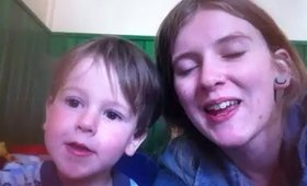 Selfie Cam at two and a half