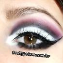 Pink smokey eyes!