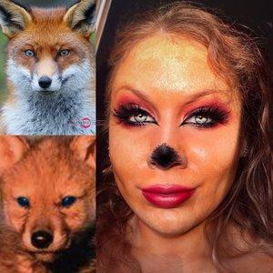 One word for you: AHHHHH-OOOOOOOOUUUUUH! http://theyeballqueen.blogspot.com/2016/09/wolfy-fox-inspired-theatrical-halloween.html