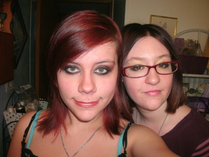 Both are Michelle Phan inspired :) (my friend on the right. I did her makeup as well lol)