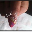The Glam Tribal Nail Art