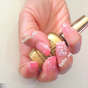 Use the top coat from milani