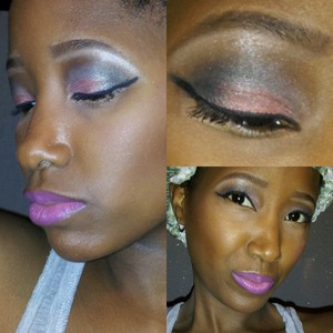 Sultry Smokey Cat Eye for the Fall season.. Great look for a night out!