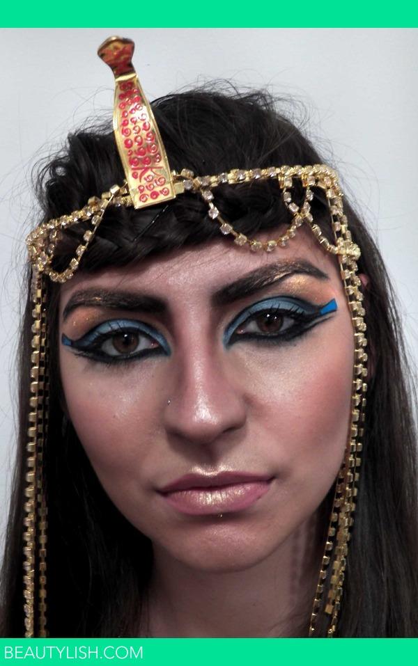 Cleopatra Halloween Look Prettysquared M S Photo