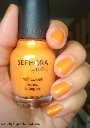 Finger Painting June 27, 2011 Sephora by O•P•I Note to Self http://msprettyfulgirl.blogspot.com/2011/06/finger-painting-note-to-self.html