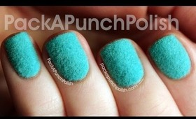 Review & Tutorial: Born Pretty Store Flocking Powder Nail Art