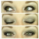 black smokey eye(: