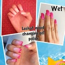 Mood changing gel polish