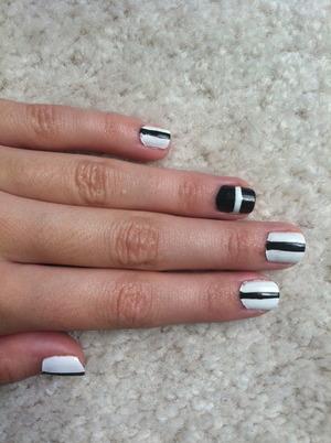 Super stripey nails!
