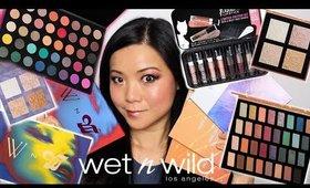MASSIVE WET N WILD HOLIDAY MAKEUP HAUL!!! (40 Palette, Highlight Palette, Liquid Lipsticks etc)