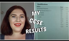 MY GCSE RESULTS 2016| Life's Little Dream
