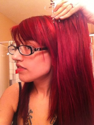 anyone have experience using and mixing manic panic colors