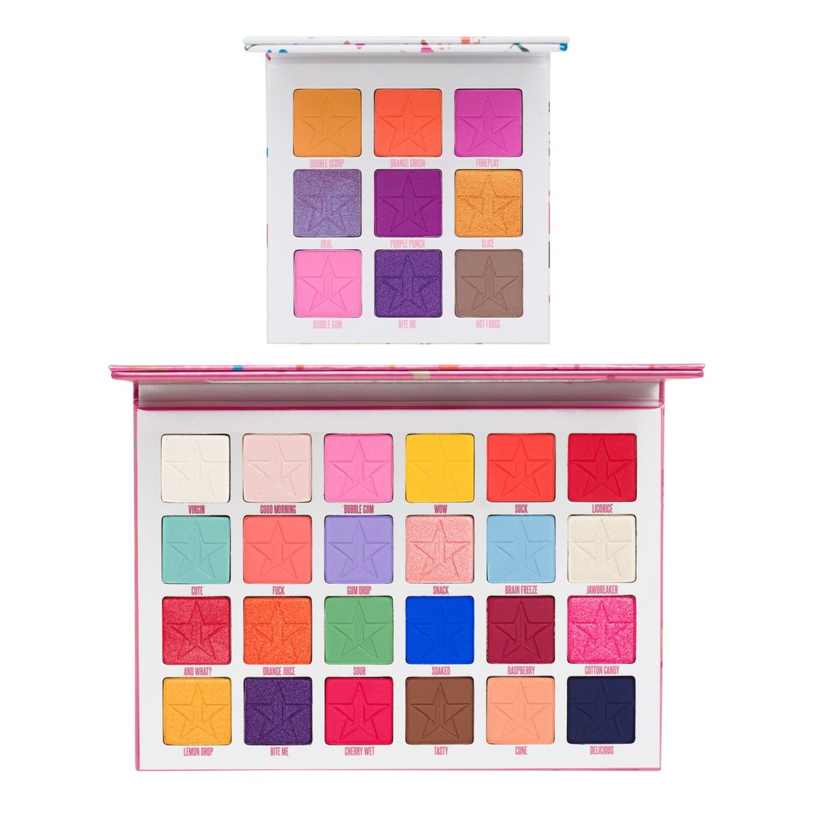 Jeffree Star Cosmetics Jawbreaker & Mini Breaker Eyeshadow Palette Bundle product smear.