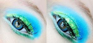 GEO Xtra Sakura Blue lenses