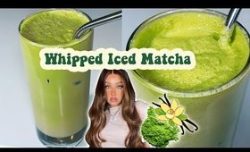 WHIPPED VANILLA MATCHA | SoOo Amazing!!