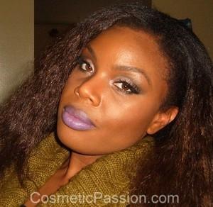 Va Va Violet Puckers! --> http://www.cosmeticpassion.com/2011/11/look-of-day-va-va-violet-puckers.html