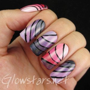 Read the blog post at http://glowstars.net/lacquer-obsession/2014/10/holographic-ombre-swooshes/