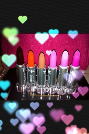 Nika K lipsticks