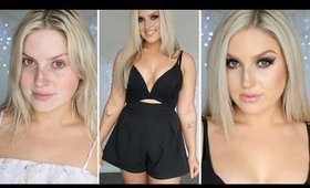 Get Ready With Me! ♡ New Years Eve Makeup, Outfit & Hair!