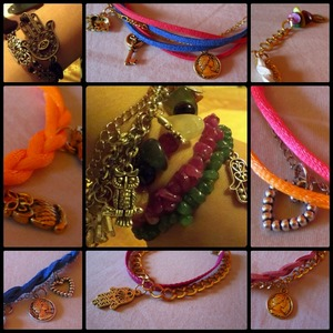 These are some bracelets I've made. Opinions please :)